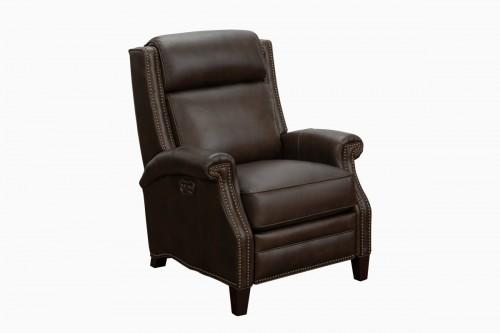 Barrett Power Recliner Chair with Power Head Rest - Ashford Walnut/All Leather