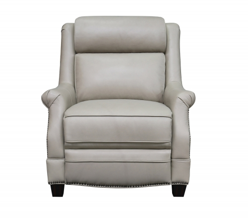 Barcalounger Warrendale Power Recliner Chair with Power Head Rest - Shoreham Cream/All Leather