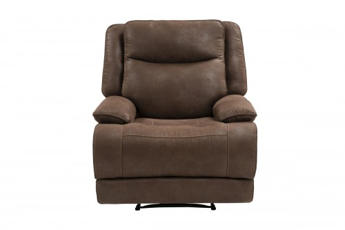 Lawson Power Recliner Chair with Power Head Rest - Garrett Chocolate/fabric