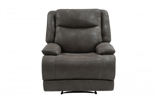 Lawson Power Recliner Chair with Power Head Rest - Garrett Gray/fabric
