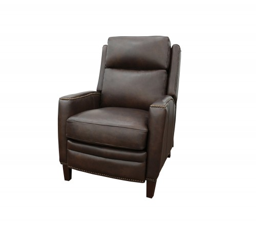 Nolan Power Recliner Chair with Power Head Rest - Ashford Walnut/All Leather