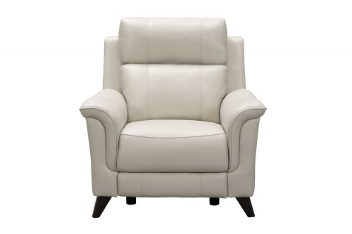 Kester Power Recliner Chair with Power Head Rest - Laurel Cream/Leather match