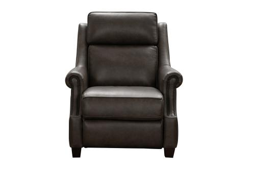 Oliva Power Recliner Chair with Power Head Rest - Bennington Hazelnut/All Leather