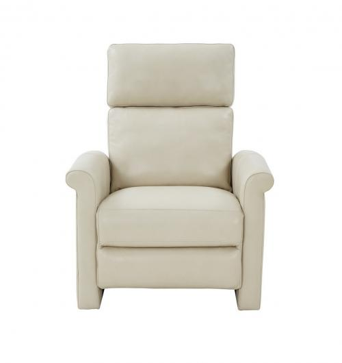 Jaxon Zero Gravity Power Recliner Chair with Power Head Rest and Lumbar - Barone Parchment/All Leather