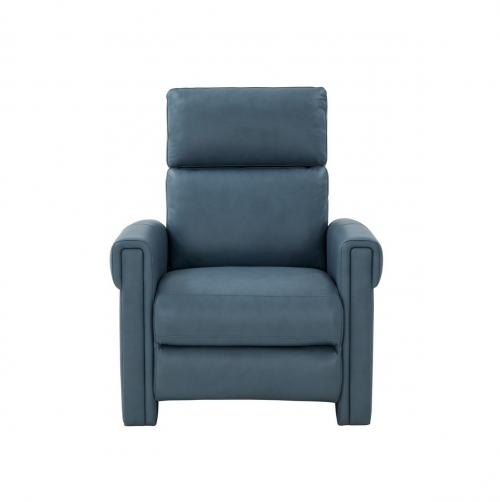 Jeffrey Zero Gravity Power Recliner Chair with Power Head Rest and Lumbar - Corbett Steel Gray/All Leather