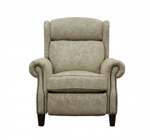 Lexington Power Recliner Chair with Power Head Rest and Lumbar - Sandcastle/fabric