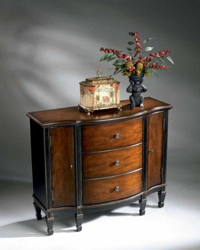 0674104 Cafe Noir Console Cabinet