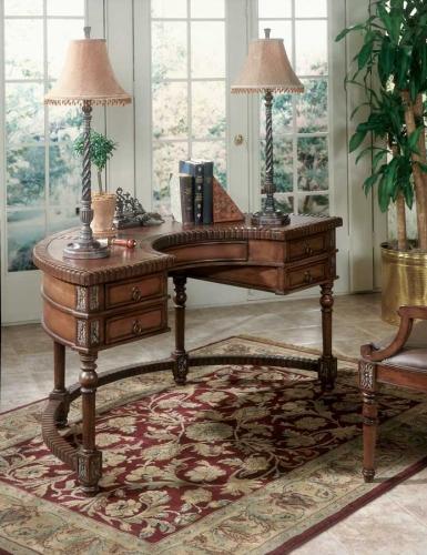 0714090 Connoisseur's Demilune Desk