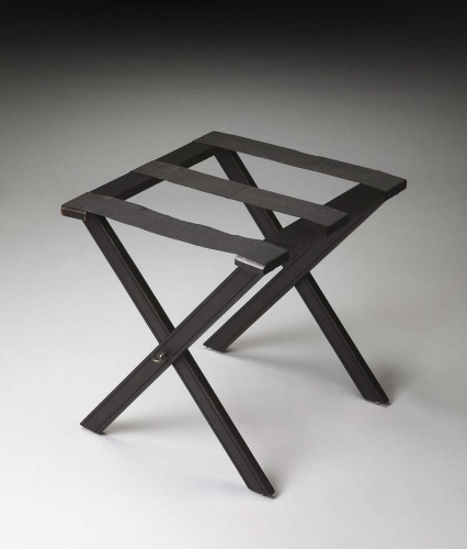 1222111 Luggage Rack - Black Licorice