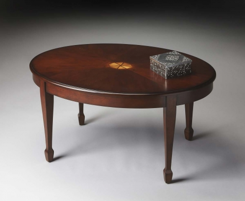 1234024 Cocktail Table - Plantation Cherry