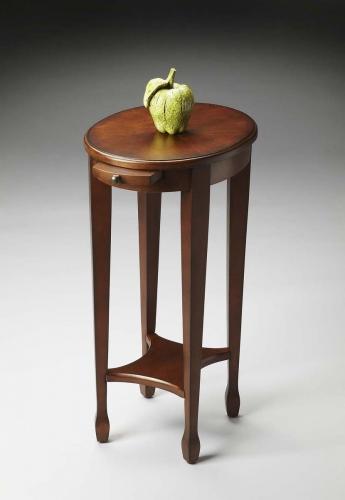 1483108 Accent Table - Chestnut Burl