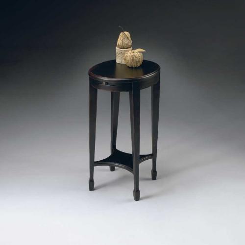 1483136 Plum Black Accent Table