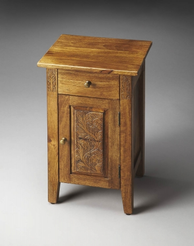 1841290 Artifacts Chairside Chest