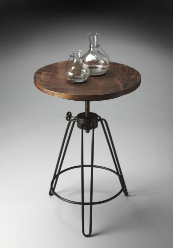 2046025 Accent Table - Metalworks