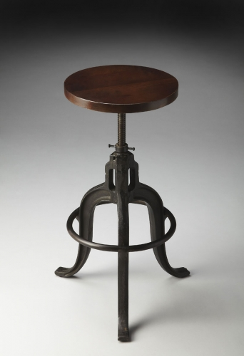 2049025 Revolving Bar Stool - Metalworks