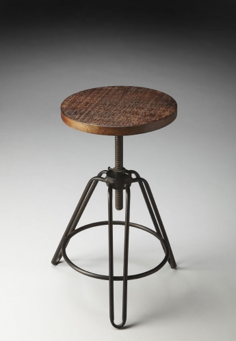 2050025 Revolving Bar Stool - Metalworks