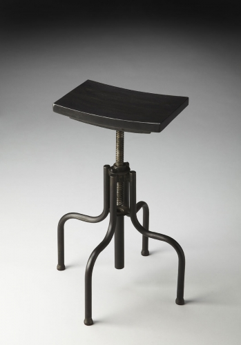 2051025 Revolving Bar Stool - Metalworks