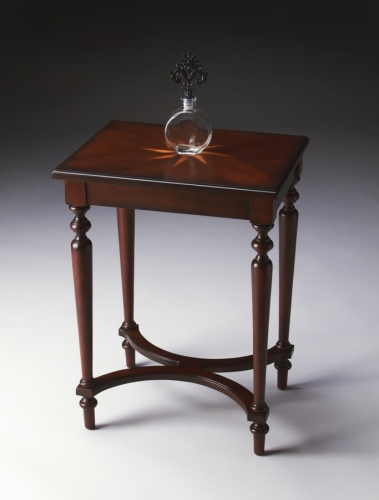 2116024 Plantation Cherry Accent Table