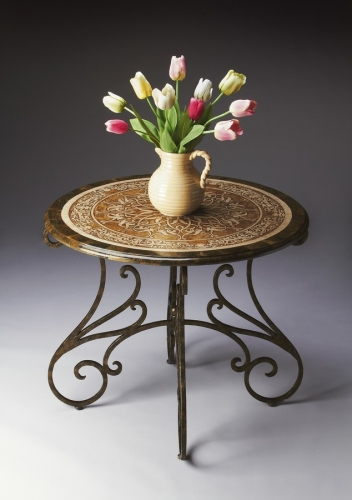 2171025 Metalworks Foyer Table