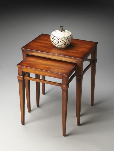 2219011 Nest Of Tables - Antique Cherry
