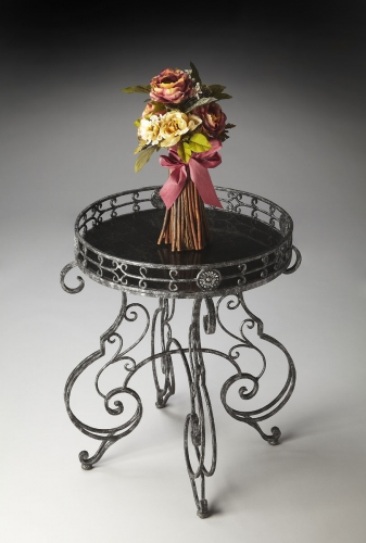 2284025 Accent Table - Metalworks