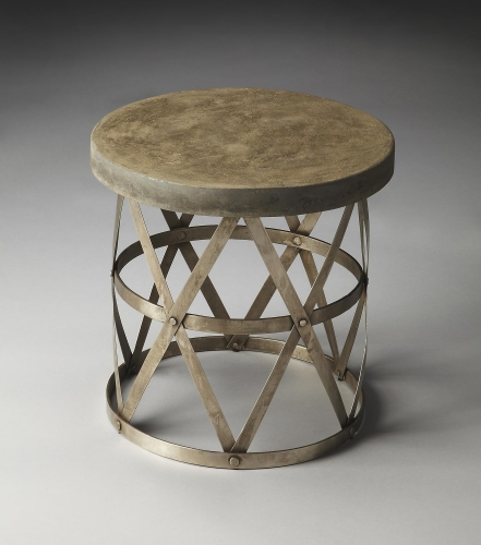 2543025 Metalworks Side Table