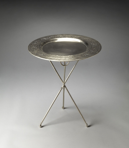 2557025 Metalworks Accent Table