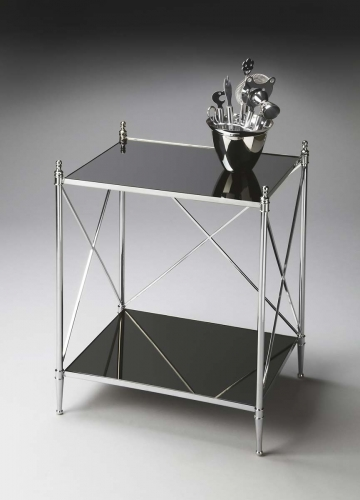 2862220 End Table - Nickel