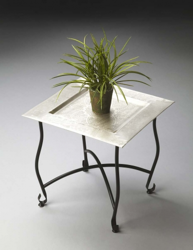 2867025 Moroccan Tray Table - Metalworks