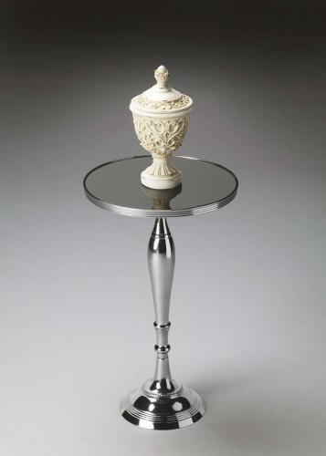 Butler 2878220 Pedestal Table - Nickel