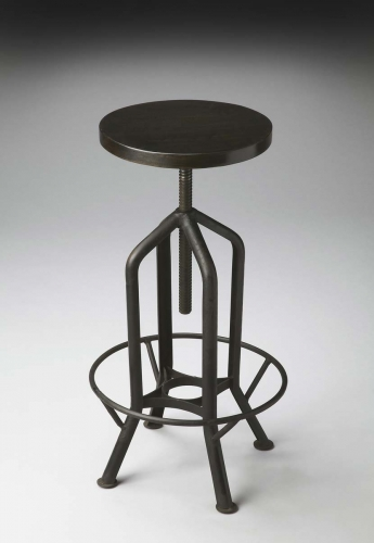 2883025 Revolving Bar Stool - Metalworks