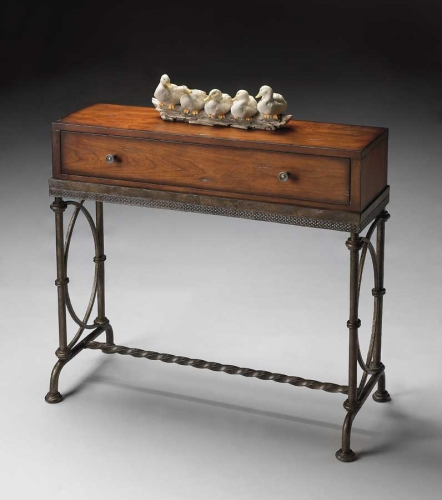 4013102 Old World Cherry Console Table