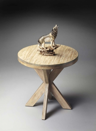 4124247 Accent Table - Driftwood