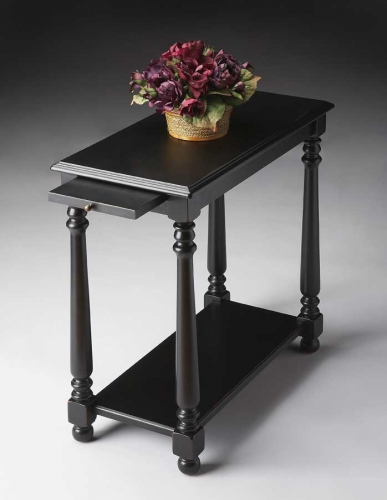5017111 Black Licorice Chairside Table