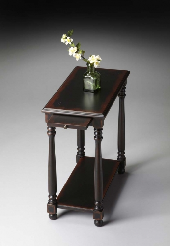 5017250 Chairside Table - Midnight Rose