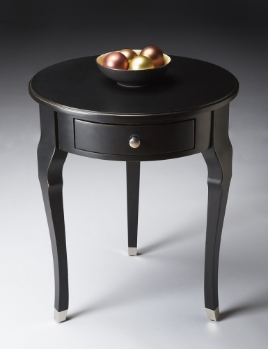 6014111 Black Licorice Side Table