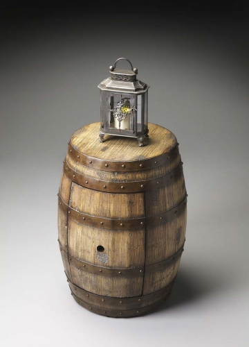6044245 Barrel Table - Praline