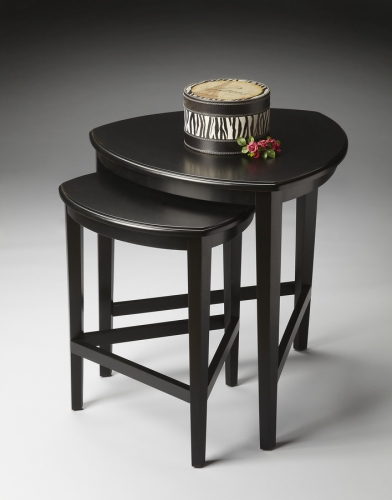 7010111 Black Licorice Nesting Tables