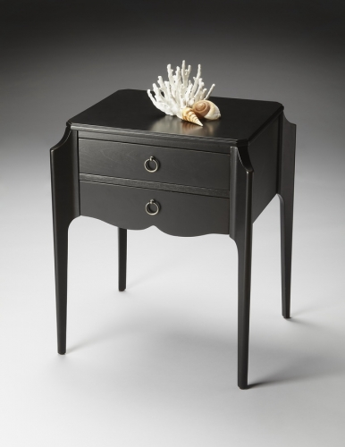 7016111 Black Licorice Accent Table