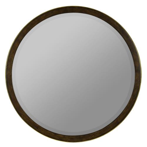 Daniel Mirror - Mahogany