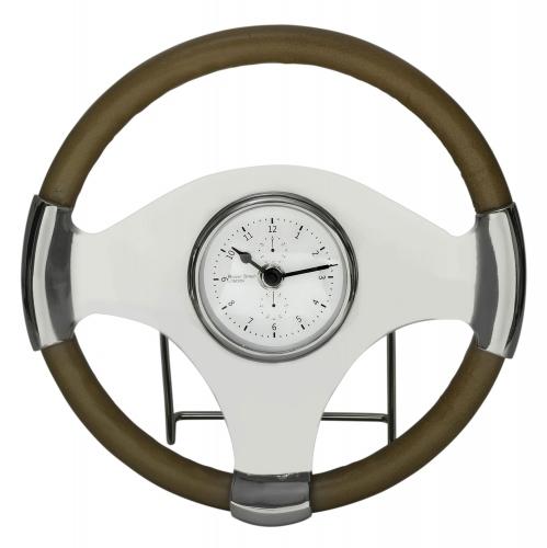Jonathan Table Clock - Silver