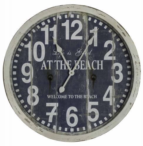 Greenwich Clock - Cream