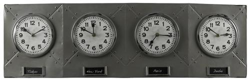 Terminal Clock - Gray