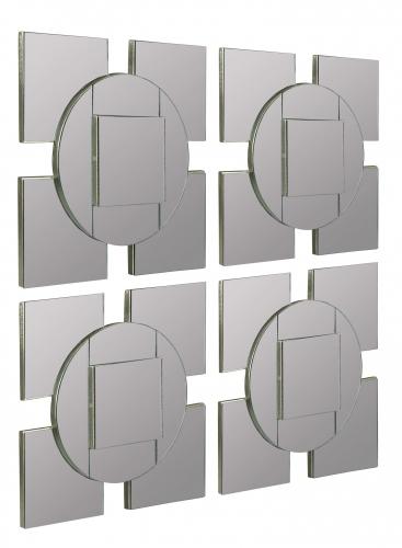 Tupan Mirror - Set of 4