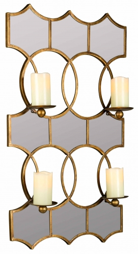 Lia Mirror Candle Holder