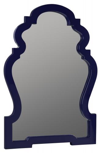 Reba Mirror - Lacquered Cobalt