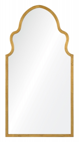 Lincoln Mirror - Textured Gold