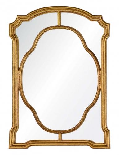 Cato Mirror - Antiqued Gold