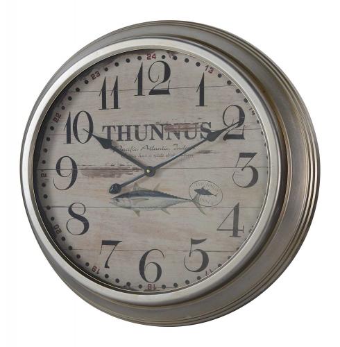 Yates Clock - Silver