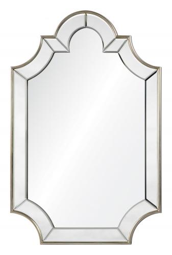 Bienville Mirror - Silver